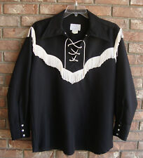 New listing H Bar C California Ranchwear Shirt Large Rockabilly Vlv