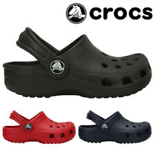 BOYS GIRLS INFANTS CROCS SUMMER WALKING BEACH HOLIDAY CLOGS SHOES SANDALS SIZE
