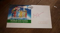 WEST INDIES CRICKET GREAT CARL HOOPER HAND SIGNED SOUVENIR COVER