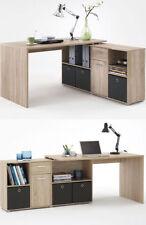 Schreibtische aus Eiche zum Zusammenbauen