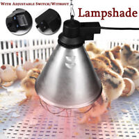 "275W Infrared Heat Lamp Poultry Incubator Bulb Lampshade For Chicks Pet  ""+"