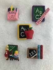 New listing Lot of 5 Vintage Teacher Button Covers