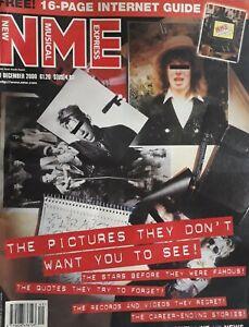 Nme Music Magazine.9 December 2000.Internet Guide.Sugababes/Ash/Madonna Etc
