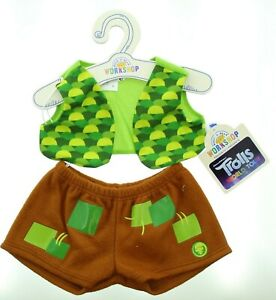 Build-A-Bear Trolls Branch Set II Outfit Teddy Bear Accessories 028401