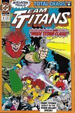 Team Titans Comic Issue 3 Modern Age First Print 1993 Marv Wolfman Maguire DC