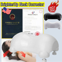 US Brighter Up Neck Corrector Massager Pillow Adjustable Height 0-1.5CM