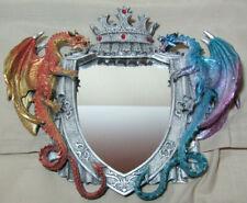 # 361070 Spiegel Drachen Wandspiegel 2 versch. Drachen Mystery Fantasy