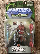 2003 MODERN SERIES MOTU HE-MAN MASTERS OF THE UNIVERSE VS SNAKEMEN Zodak
