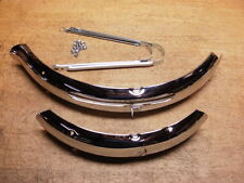 "Schwinn Approved Bicycle 20"" Stingray Krate Chrome Fender Set Braces & Hardware"
