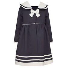NWT Girls 2t BONNIE JEAN Navy Nautical Dress and Jacket Set PRETTY ~ L@@K!