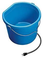 ALLIED HEATED WATER BUCKET Heavy Duty Plastic 6ft Cord Keeps Ice Free 2.5 Gallon