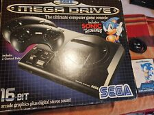 Sega Megadrive box + game
