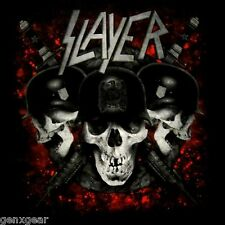 SLAYER cd lgo Eagle TRIPLE SKULL Official SHIRT SMALL new