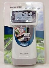 AcuRite Wireless Rain Gauge w/ Self-Emptying Rainfall Collector Model: 00899A1