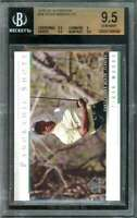 Tiger Woods PS Card 2005 SP Authentic #34 BGS 9.5 (9.5 9 9.5 9.5)