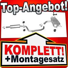 Auspuff VW TOURAN 1.6 102PS 07.2003-05.2008 Auspuffanlage J82