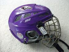 Niagara U Cascade M11 Mark Messier Hockey Helmet Adult Sz Small W/ Matching Cage