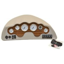 Glastron Boat Gauge Dash Panel 025-4538 | Mercury Outboard Taupe