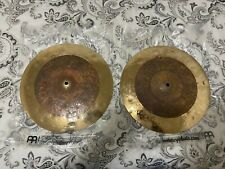 Meinl Byzance Extra Dry Dual Hi-Hat Cymbal Pair 15 in