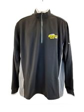 Nike Golf Dollar General Half-Zip Tour Performance Dri Fit Cover Up Jacket  Sz L