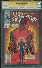 Amazing SPIDER MAN 392 CGC SS 9.8 Stan Lee Signed Bagley art 50 #1 Cover swipe