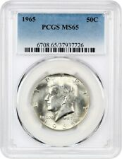 1965 50c PCGS MS65 - Kennedy Half Dollar