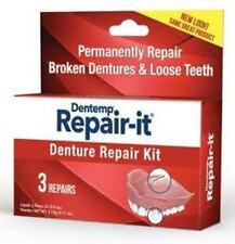 Dentemp Repair-It Denture Repair Kit - For Three Repairs