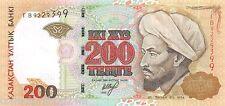 Kazakhstan 200 Tenge 1999 Unc pn 20a