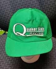 740e1be2f53 VINTAGE QUAKER STATE RACING MESH SNAPBACK HAT CAP