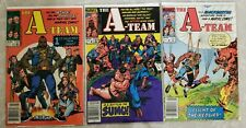 A-Team, The 1 2 3 Marvel 1984 Complete Set Run Lot 1-3 Fn/Vf