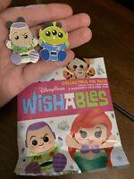 *Wishables* Toy Story -Buzz Lightyear & Green Alien LGM Disney Mystery Pin