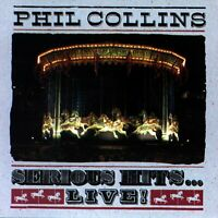 PHIL COLLINS - SERIOUS HITS LIVE CD ~ GREATEST ~ BEST OF ( GENESIS ) *NEW*