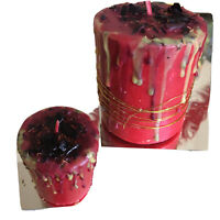 Fixed Fast Action Manifestation Candle Wiccan Pagan Hoodoo
