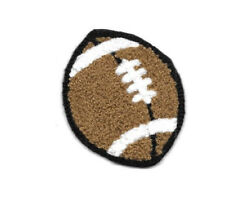 Football - Sports - PE - Coach - Chenille Iron On Patch