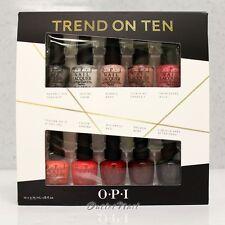 OPI TREND ON TEN 10pcs O.P.I Mini Kit Holiday 2014: 2 Set of 5 Packs Nail Gift