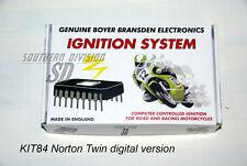 Norton Commando elektr. Zündung Boyer mit Kennlinie ignition unit Micro Digital