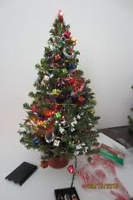 "Christmas Tree for Dolls - 16"" Mini Pine Artificial Lighted - No Doll included"