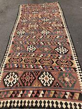 Antique Hand Made Caucasian Shirvan Kilim rug Size 340x150