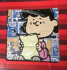 """Peanuts Lucy Westland Giftware Canvas Wall Art 12"""" x 12"""""""