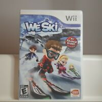 We Ski  - Nintendo Wii Authentic/Cleaned/Tested