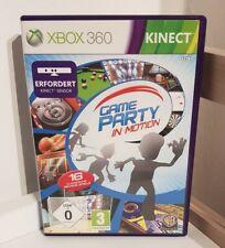 Game Party in Motion XBOX 360 ( Kinect erforderlich ) Active Sport Spiel