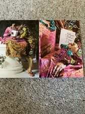 More details for artist autograph- yinka shonibare - signed postcard - a must for collectors !!!
