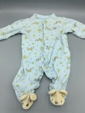 Disney Baby Tigger & Pooh Bear One-Piece Footed Baby Clothes 0-3 Months