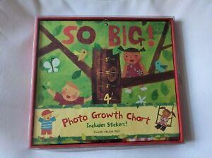 Growth Chart Peaceable Kingdom Photo Stickers Unisex Kids Tree Nature Theme