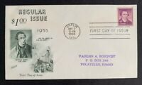 US Scott #1052 Liberty Series Patrick Henry $1 FDC First Day of Issue Fleetwood