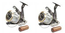 Set Of 2 X Wychwood Riot 65 Big Pit Carp Fishing Reel  Reels + Spare Spools