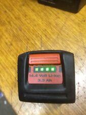 1 Batterie hilti 14,4 volts 3,3 Ah  glissière