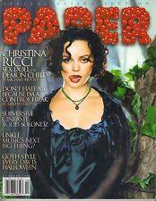 CHRISTINA RICCI Paper Magazine 10/98 SEX DOLL OR DEMON CHILD? NO LABEL PC