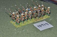 25mm medieval / turkish - seljuk infantry 16 figs - inf (14919)