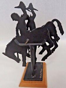Vintage Authentic Charles Ringer Signed 1987 Original Kinetic Sculpture